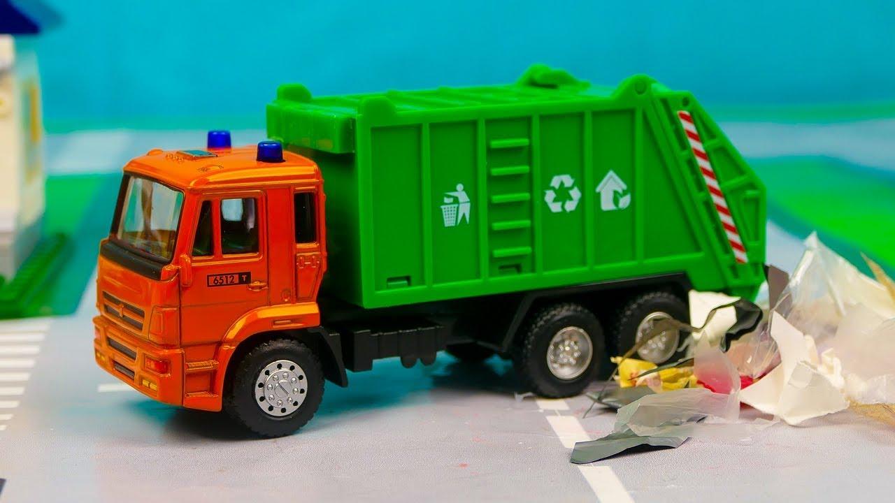 ћультики про мусоровоз и спецтехнику права на трактор и спецтехнику фото